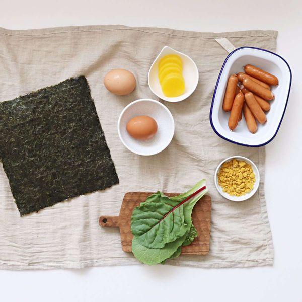 소시지랩밥