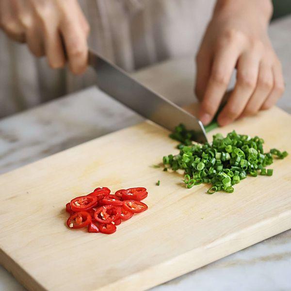 recipe step